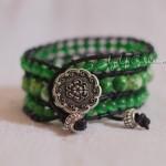Кожаный браслет «Последние дни лета»
