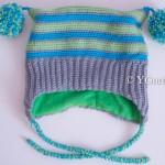 Детская шапочка Веселый полосатик-2