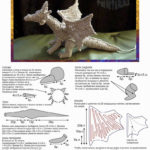 Схема амигуруми - дракон
