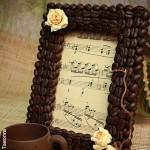 декор кофейными зернами