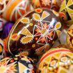 Пасхальные яйца писанки