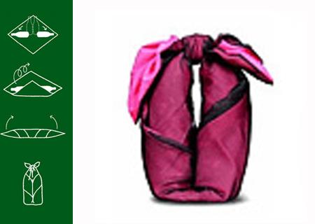 Как красиво упаковать сумку в подарок