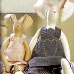 Пасхальный заяц Тильда