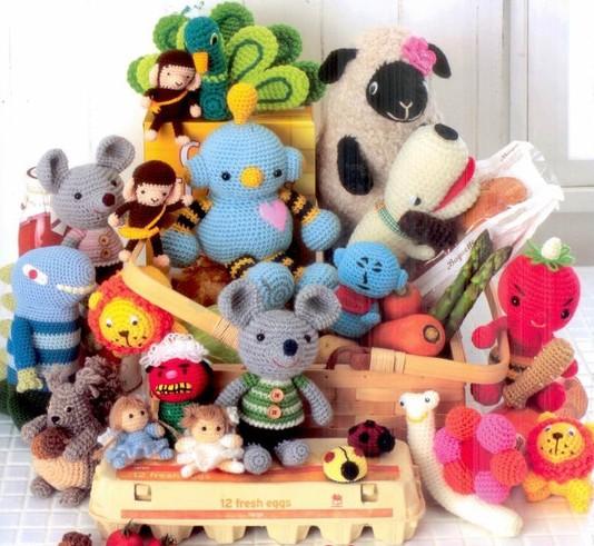 Как вязать разные игрушки