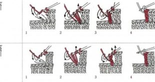 Как читать схемы вязания крючком