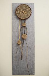 Декор из веток черемухи