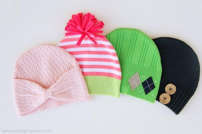 Из чего можно сделать шапку своими руками