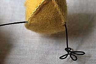 пасхальный цыпленок из фетра (10)
