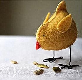 пасхальный цыпленок из фетра (12)