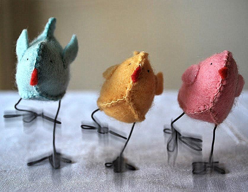 пасхальный цыпленок из фетра (14)