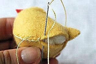 пасхальный цыпленок из фетра (4)