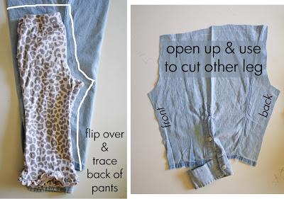 детские брюки из папиной рубашки (12)