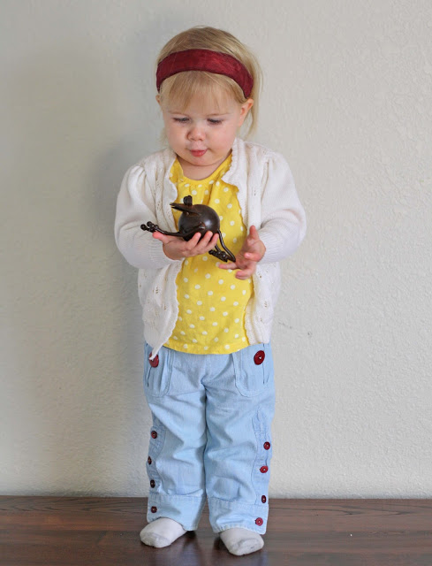 детские брюки из папиной рубашки (7)