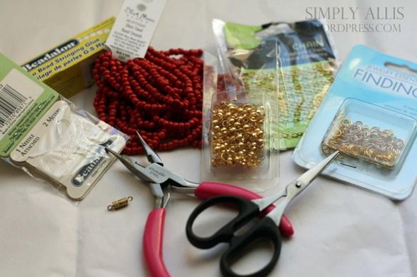 плетеный браслет из бисера своими руками (2)