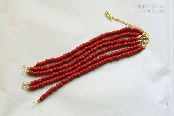 плетеный браслет из бисера своими руками (5)