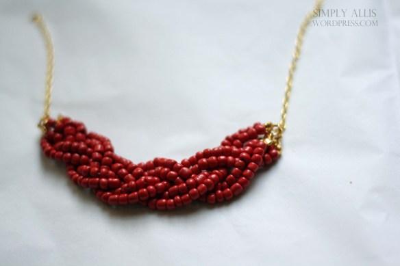 плетеный браслет из бисера своими руками (7)