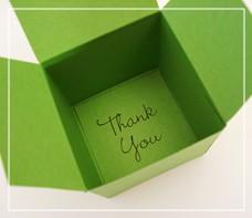 подарочная коробка с цветком своими руками (1)