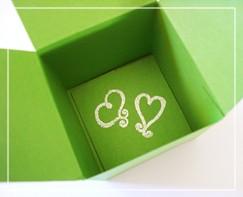 подарочная коробка с цветком своими руками (2)