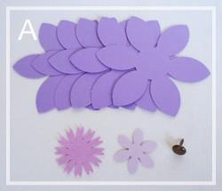 подарочная коробка с цветком своими руками (5)
