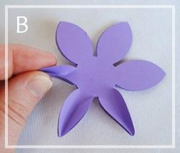подарочная коробка с цветком своими руками (6)