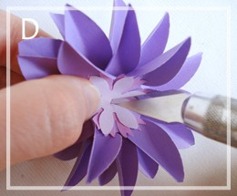 подарочная коробка с цветком своими руками (8)