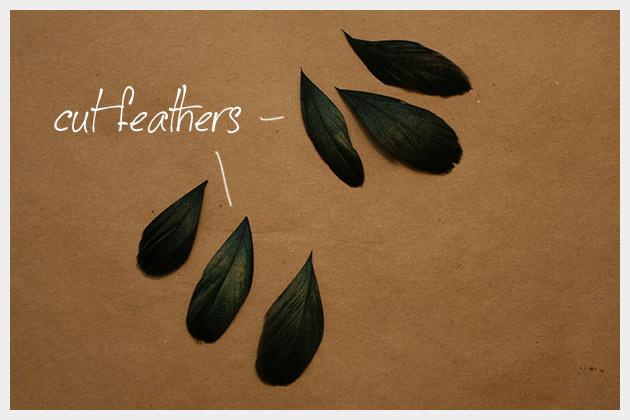 серьги с перьями своими руками мастер-класс (3)