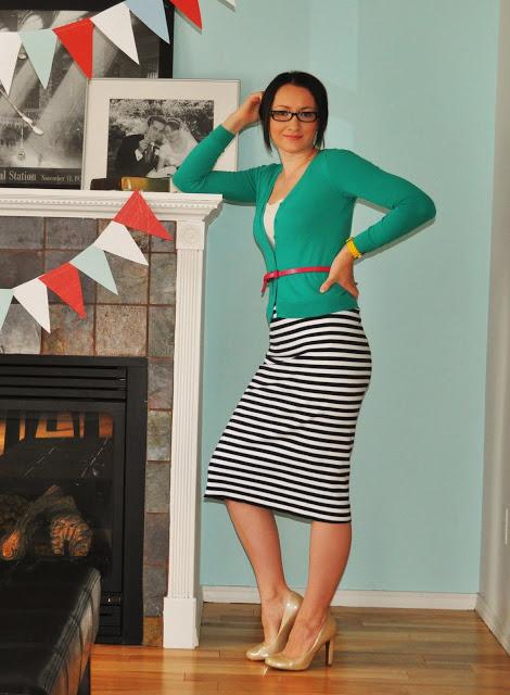 Как сшить юбку из трикотажного платья