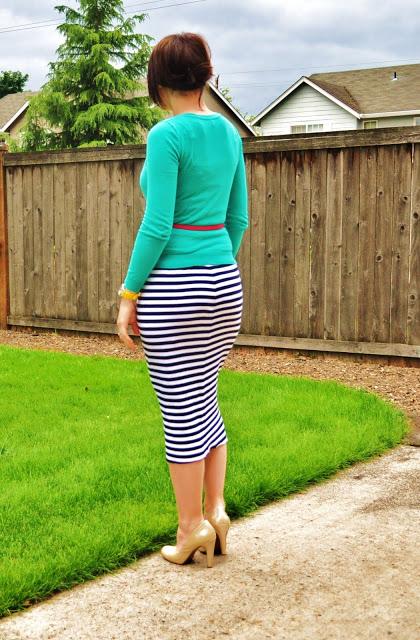 блузка к юбке со складками