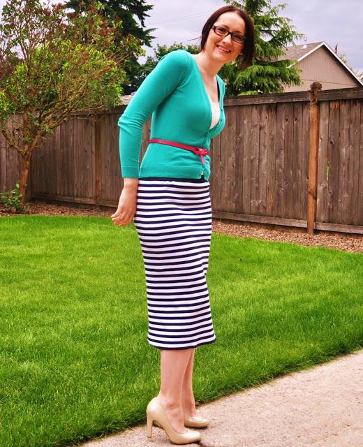 трикотажная юбка-карандаш своими руками (3)