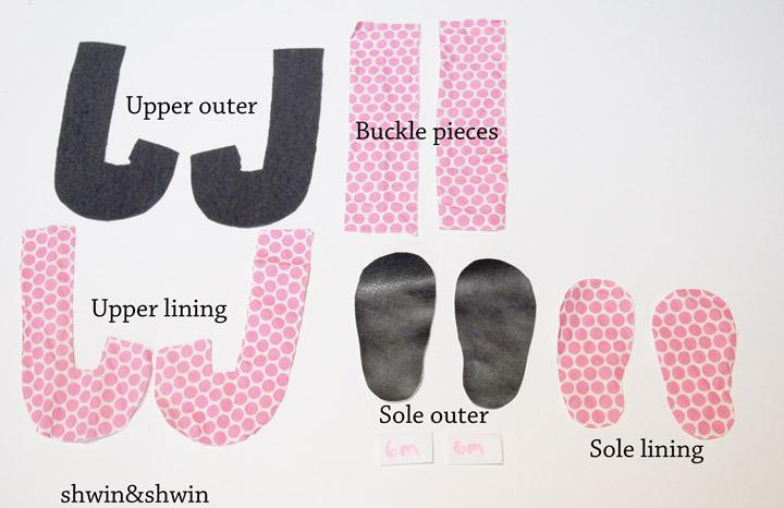 детские тапочки из фетра (1)