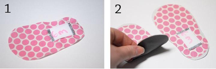 детские тапочки из фетра (2)