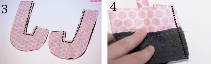 детские тапочки из фетра (3)