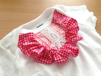 Платье для девочки из боди швейная переделка (12)
