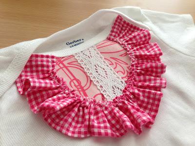 Платье для девочки из боди швейная переделка (13)