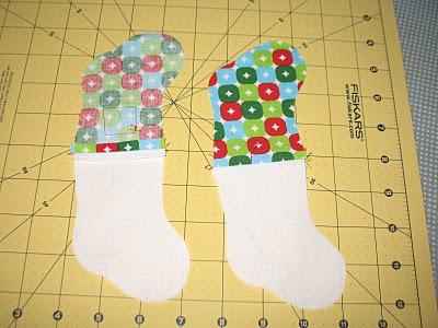 Новогодний календарь с носочками (10)