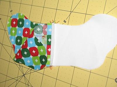 Новогодний календарь с носочками (11)
