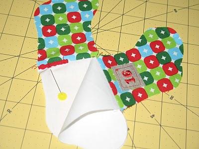 Новогодний календарь с носочками (12)