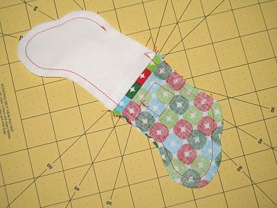 Новогодний календарь с носочками (14)