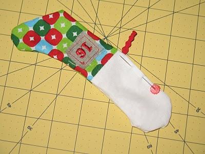 Новогодний календарь с носочками (16)