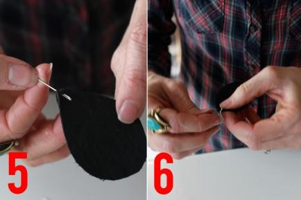 сверкающие серьги своими руками (11)