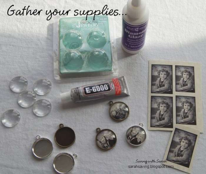 DIY Pendant Supplies