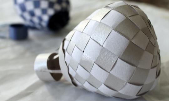 Воздушный шар из бумаги