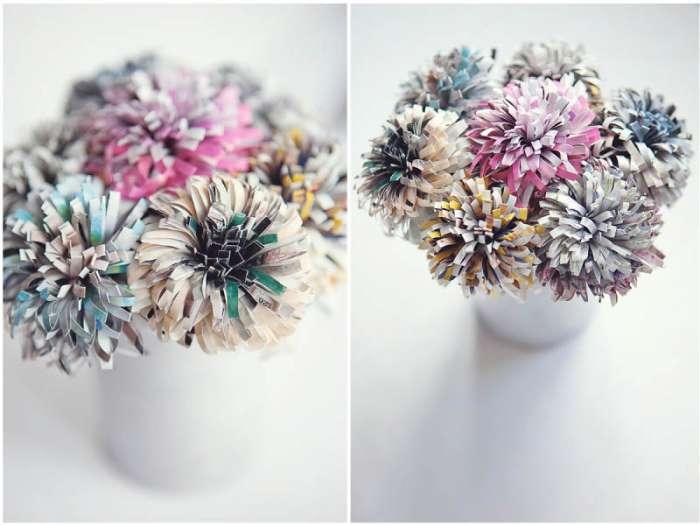 Цветы из журнала