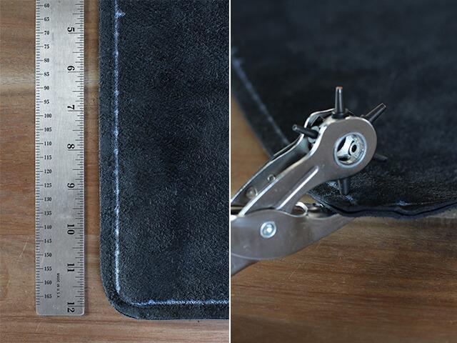 Как украсить кожаную сумку бахромой (4)
