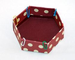 как сделать коробочку из бумаги для подарка
