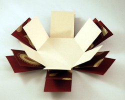 коробка из бумаги своими руками схема
