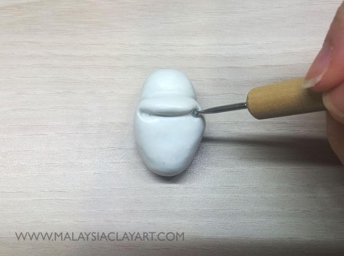 Как сделать Олафа из полимерной глины