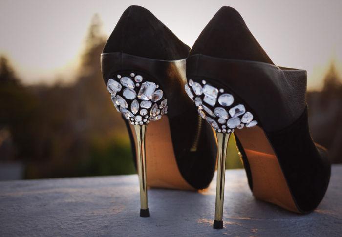 Украшения на обувь своими руками