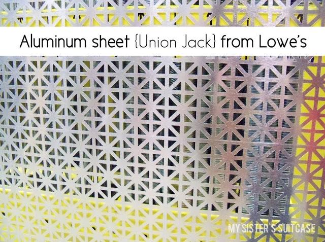 декоративный алюминиевый лист