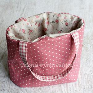 Текстильная сумка для обедов своими руками
